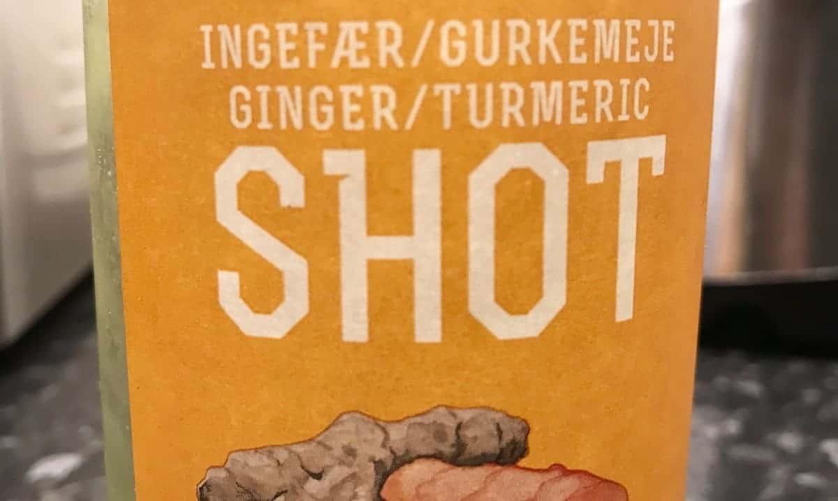 Shot med ingefära och gurkmeja