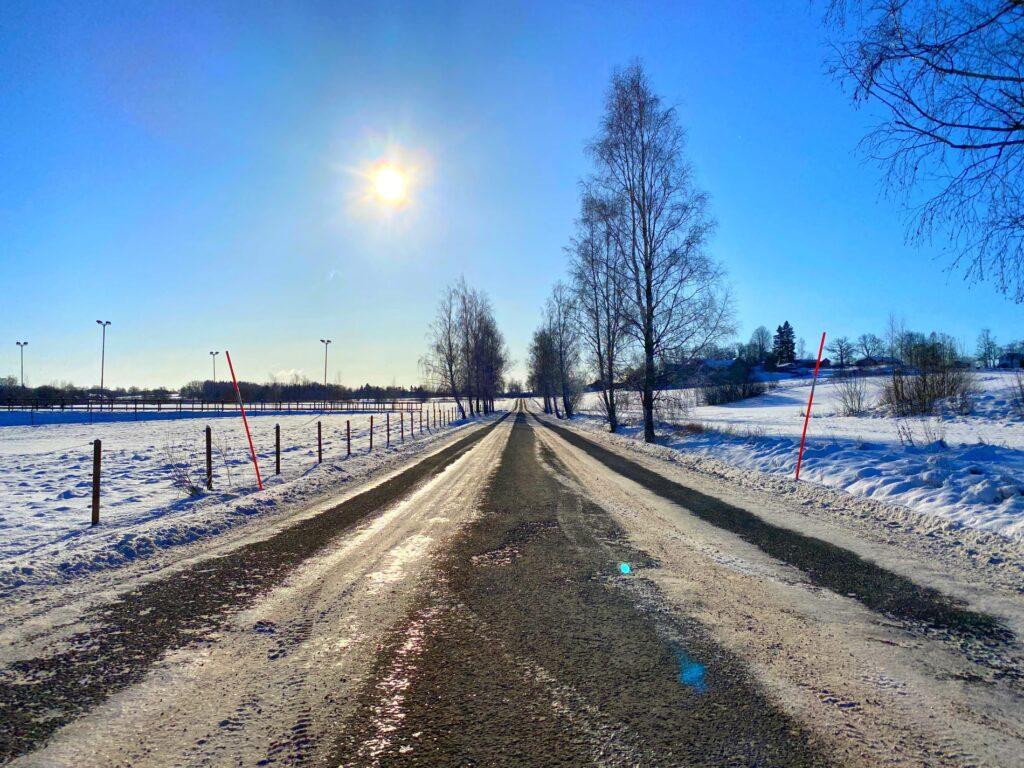 Vinterväg februari 2021